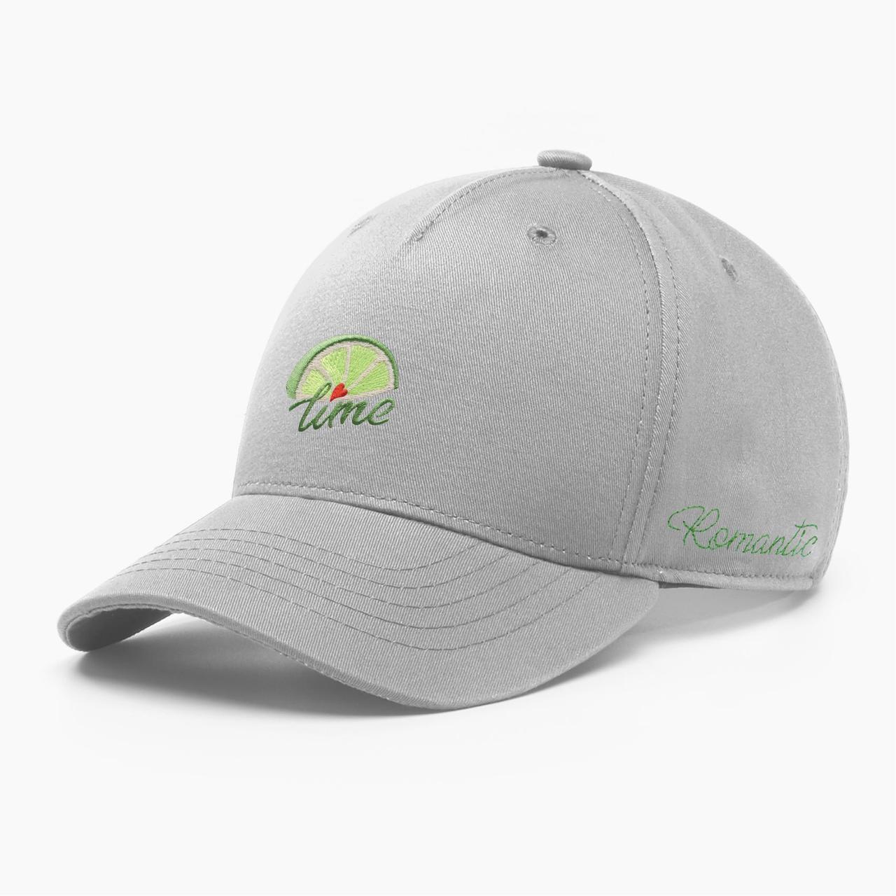 Женская кепка бейсболка INAL лайм S / 53-54 RU Серый 285453