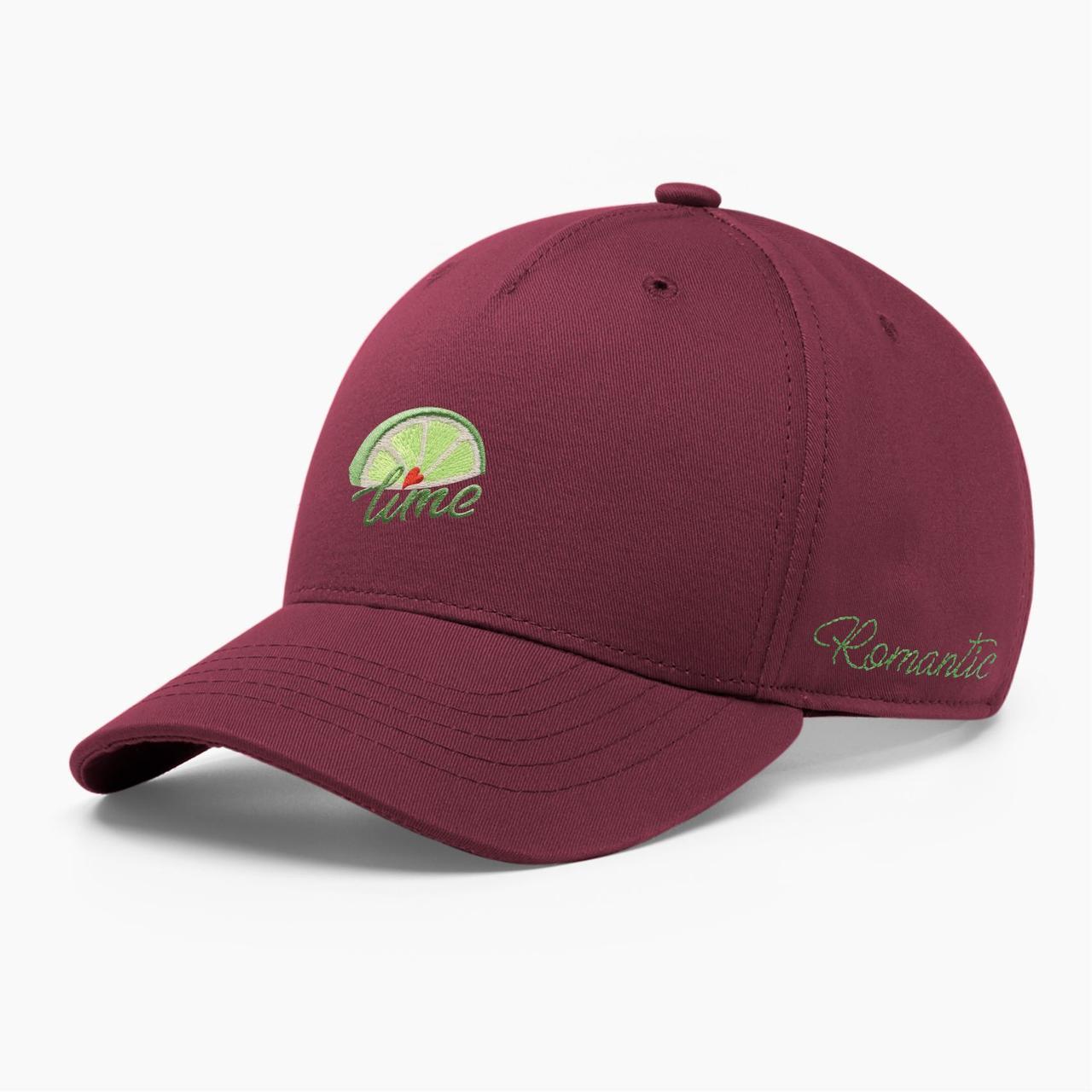 Женская кепка бейсболка INAL лайм S / 53-54 RU Бордовый 285553
