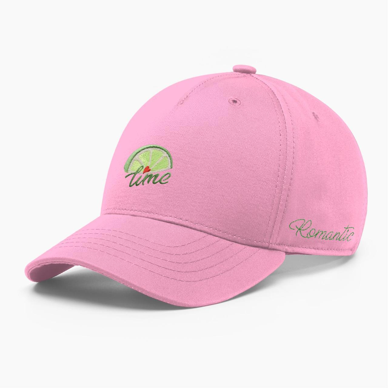 Женская кепка бейсболка INAL лайм S / 53-54 RU Розовый 285653