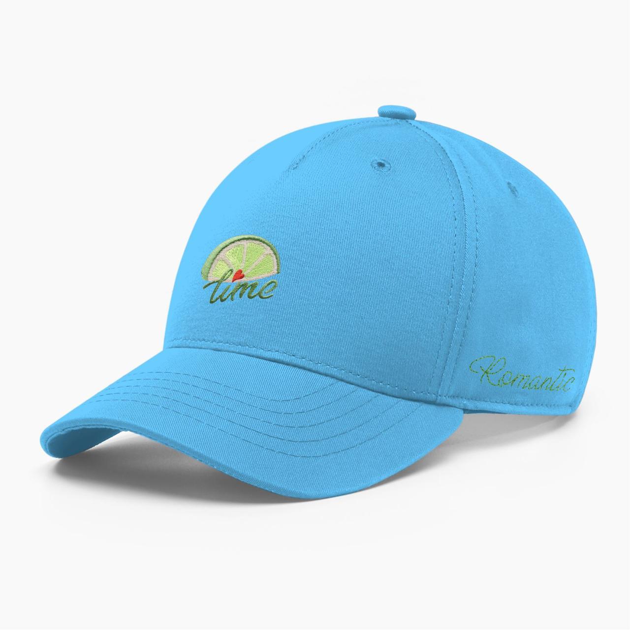 Женская кепка бейсболка INAL лайм S / 53-54 RU Голубой 285753