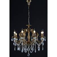 Люстра светильник хрустальный в классическом стиле для зала гостинной спальниSplendid-Ray 30-3153-52