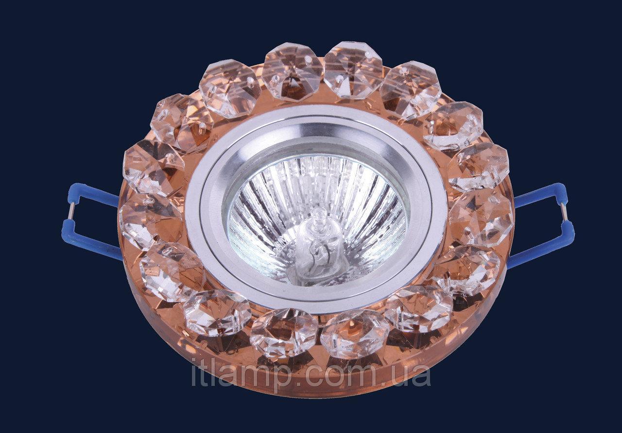 Точечные светильники врезные со стеклом Levistella 705209