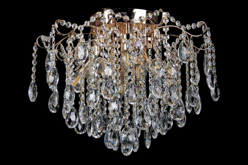 Светильники люстры хрустальные в классическом стиле потолочные Splendid-Ray 30-3605-98