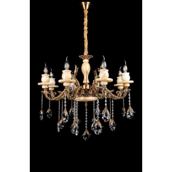 Светильники люстры свечи в классическом стиле для спальни гостинной зала  Splendid-Ray 30-3615-99