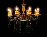 Светильники люстры свечи в классическом стиле для спальни гостинной зала  Splendid-Ray 30-3615-99, фото 3