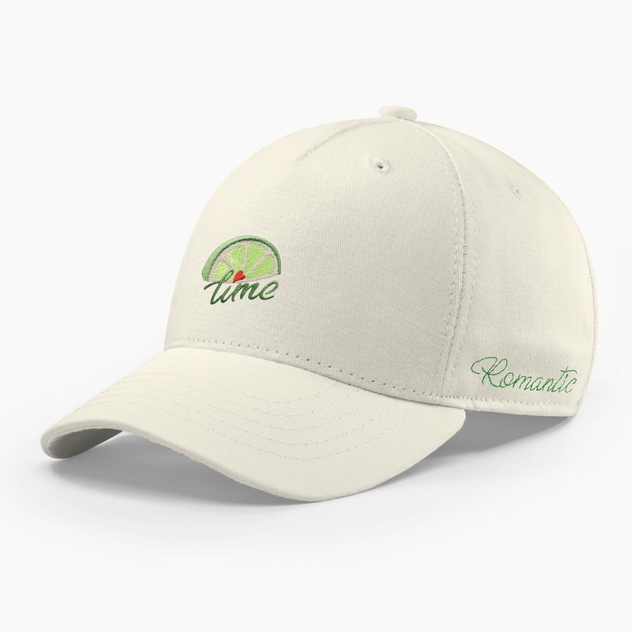 Женская кепка бейсболка INAL лайм S / 53-54 RU Молочный 286253