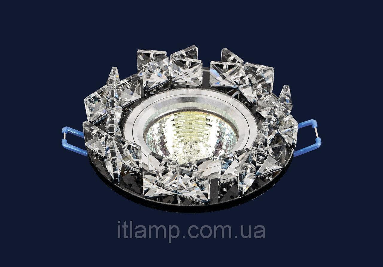 Точечные светильники врезные со стеклом Levistella 716118