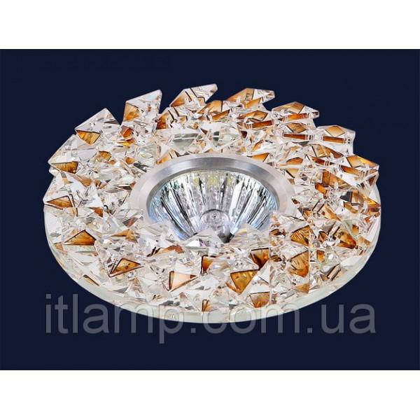 Точечные светильники врезные Светильник с зеркалом и стразами Levistella 7476691 BB