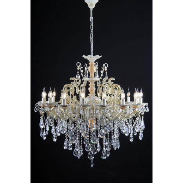 Люстра светильник в классическом стиле с хрустальными подвесками Splendid-Ray 30-3119-38
