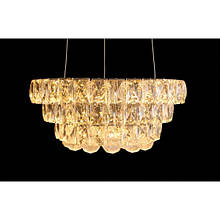 LED люстра со стразами круглая Linisoln 2310/350