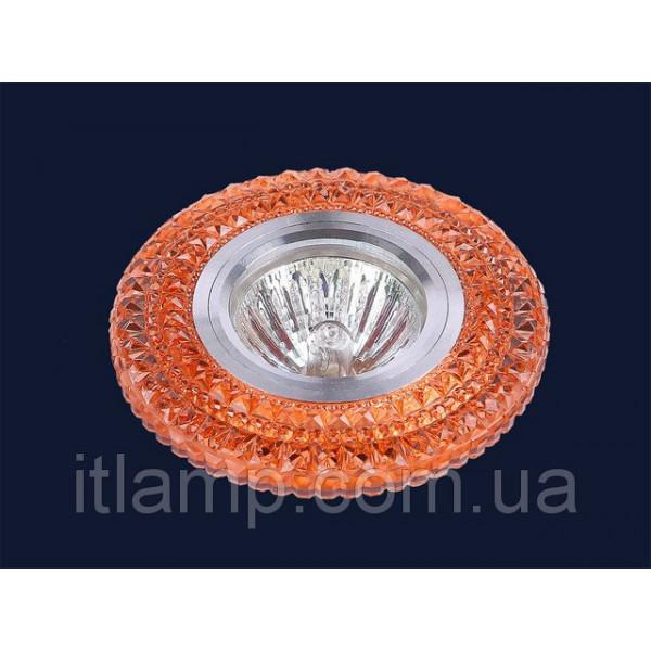 Точечные светильники врезные Красное стекло Levistella 705A35