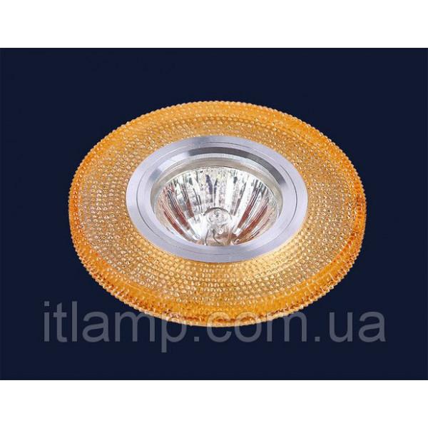 Точечные светильники врезные Оранжевые стразы Levistella 705A56