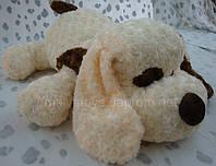 """Мягкая плюшевая игрушка  Собака с пятном -""""розочка"""",110"""