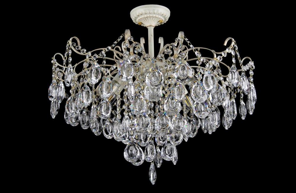 Люстра светильник хрустальный в классическом стиле для зала гостинной спальни Splendid-Ray 30-3453-75