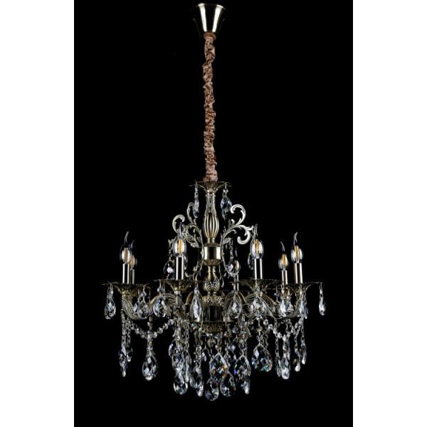 Светильники люстры свечи в классическом стиле для спальни гостинной зала  Splendid-Ray 30-3684-11