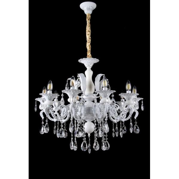 Люстра светильник классическая с хрустальными подвесками Splendid-Ray 30-3322-87