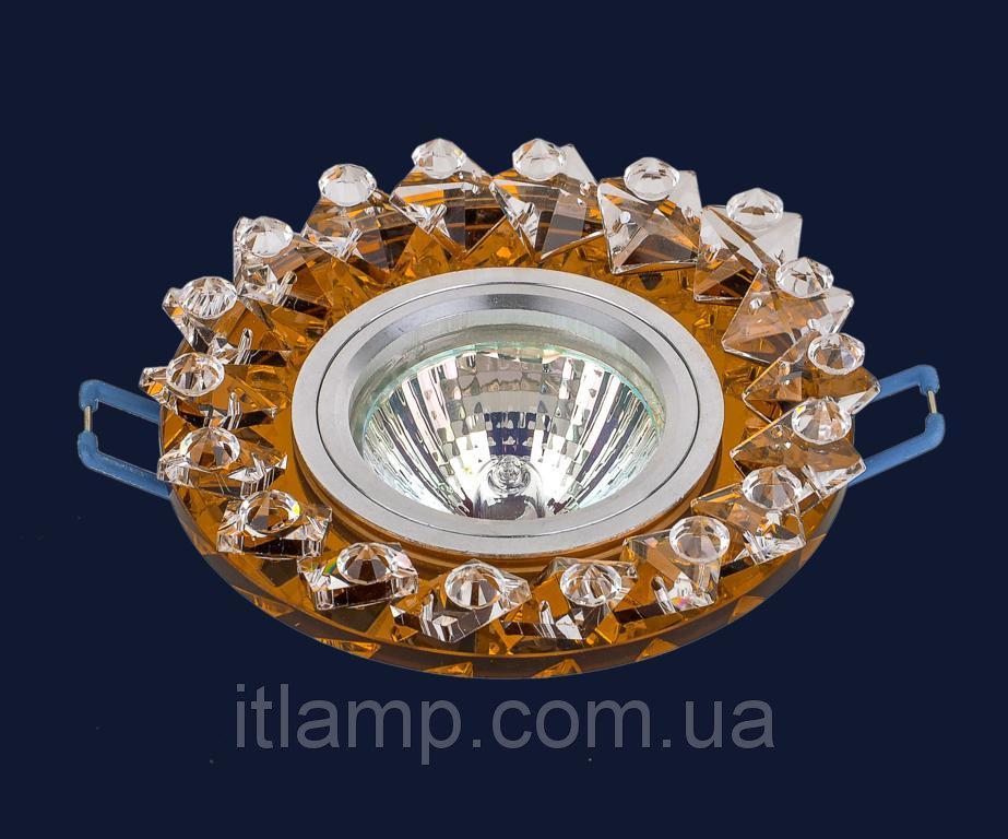 Точечные светильники врезные со стеклом Levistella 716139