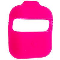 Чехол силиконовый Aare с ремешками для наушников AirPods AirPods 2 Розовый 00007696, КОД: 1536365