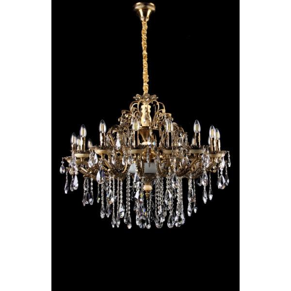 Люстра светильник в классическом стиле с хрустальными подвесками Splendid-Ray 30-3322-01