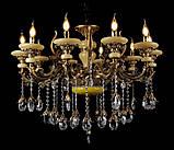 Люстра светильник в классическом стиле с хрустальными подвесками Splendid-Ray 30-3326-45, фото 6