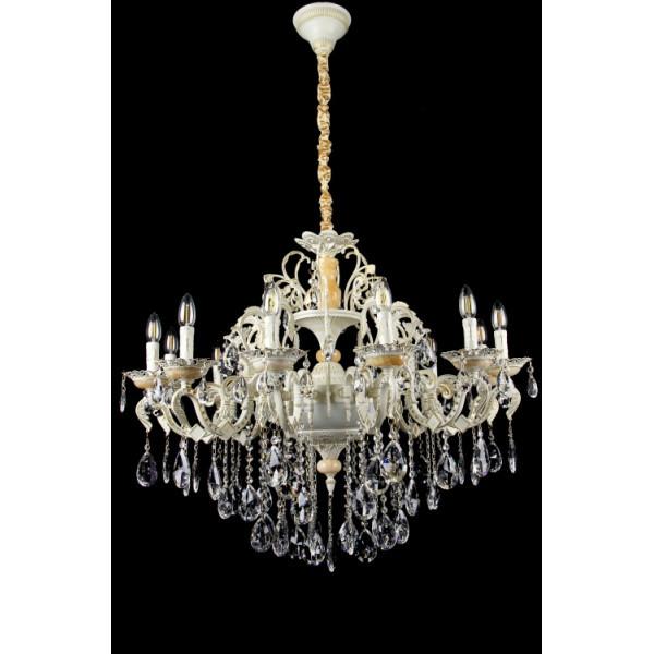 Люстра светильник в классическом стиле с хрустальными подвесками Splendid-Ray 30-3321-88