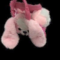 Мягкая игрушка собачка в сумке