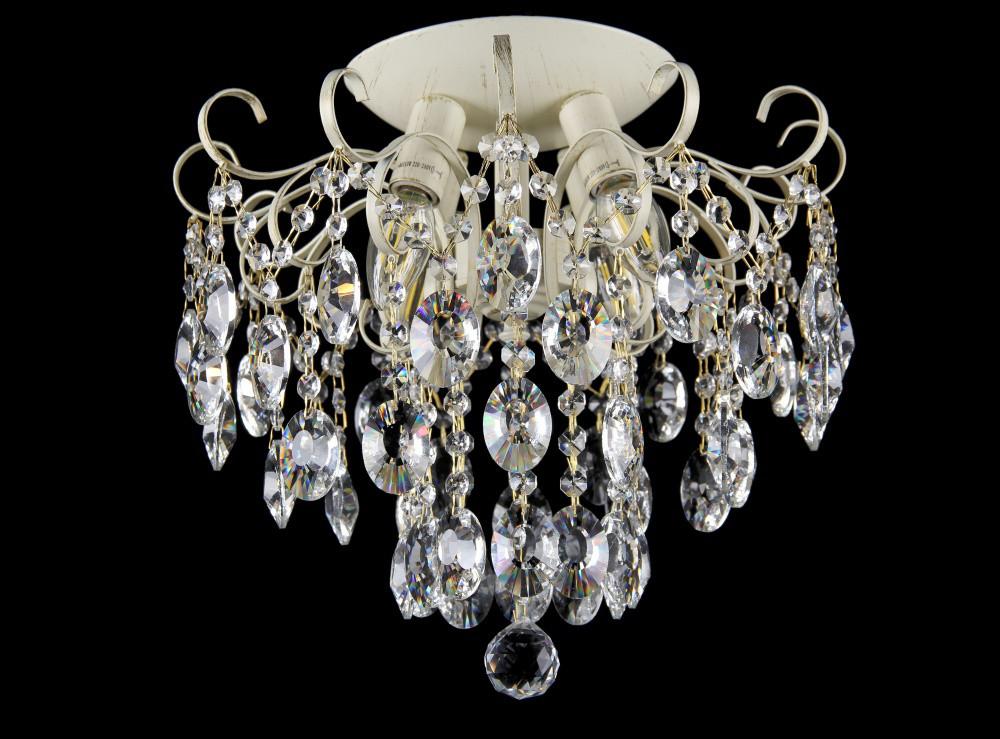 Люстра светильник в классическом стиле с хрустальными подвесками Splendid-Ray 30-3310-26