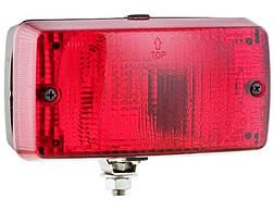 Протитуманний фонар Wesem LA1.02004 червоний СТОП 140х75х65 мм 1 шт