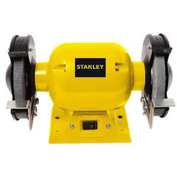 Точило электрическое STANLEY STGB3715, два диска 150 мм, мощность 370 вт