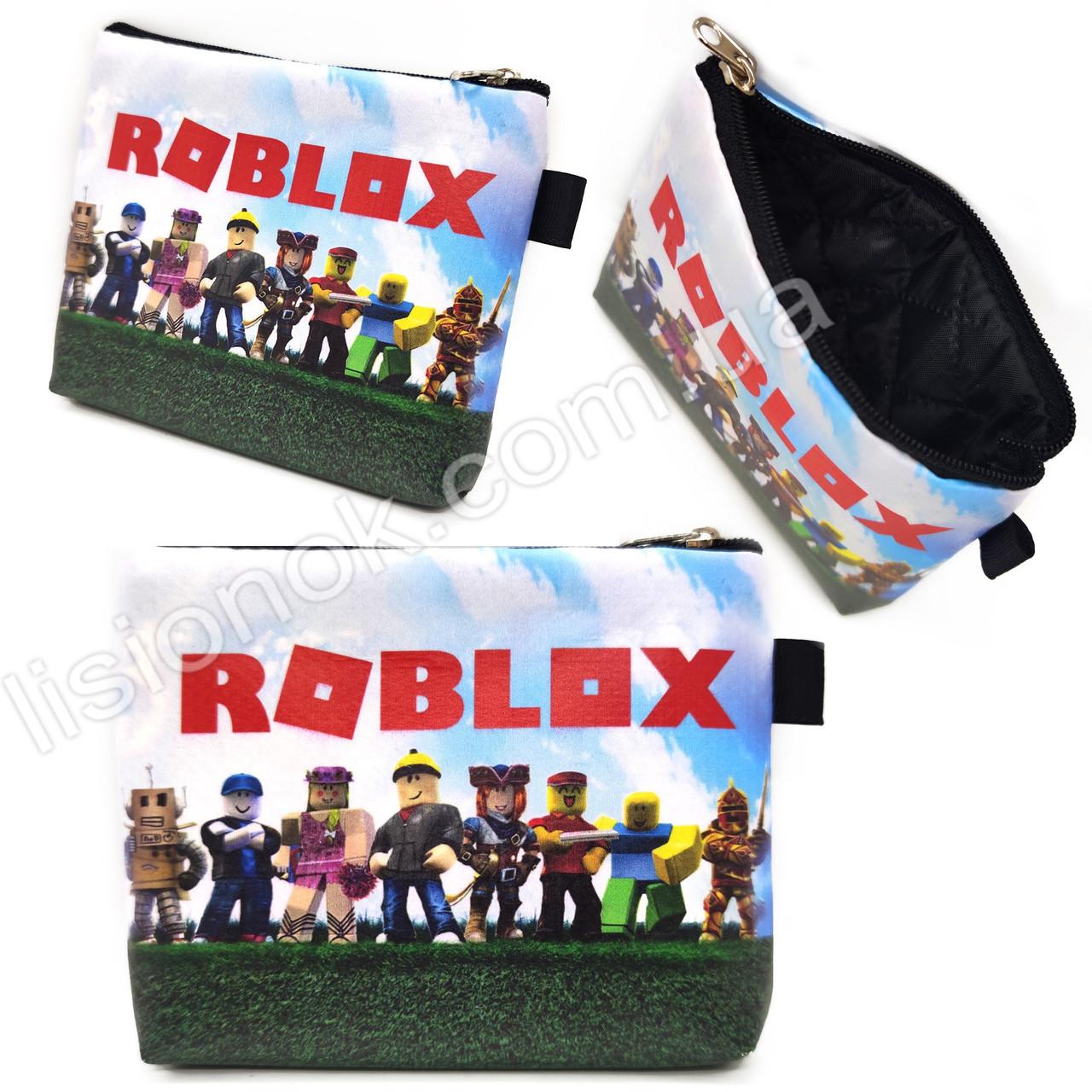 Кошелек Роблокс на змейке, яркий, красочный, с героями любимой игры Roblox