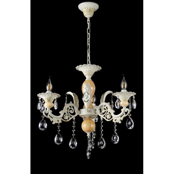 Люстра светильник классическая с хрустальными подвесками Splendid-Ray 30-3322-56
