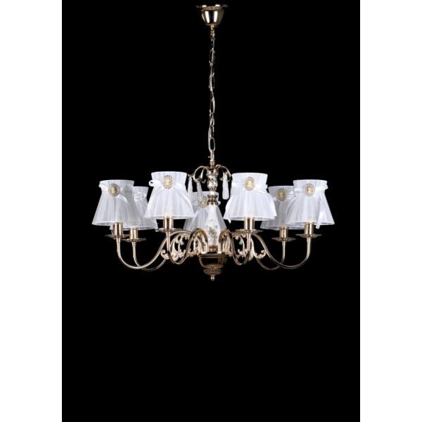 Светильники люстры свечи в классическом стиле для спальни гостинной зала  Splendid-Ray 30-3471-55