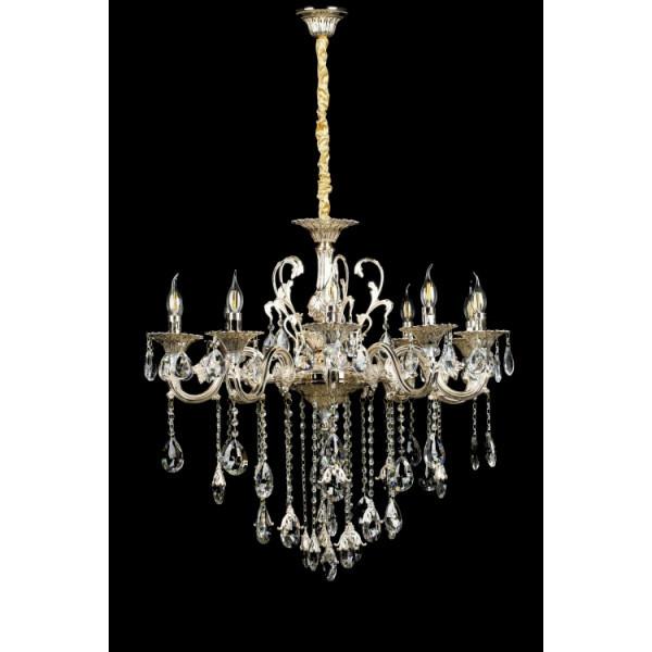 Светильники люстры свечи в классическом стиле для спальни гостинной зала  Splendid-Ray 30-3523-75