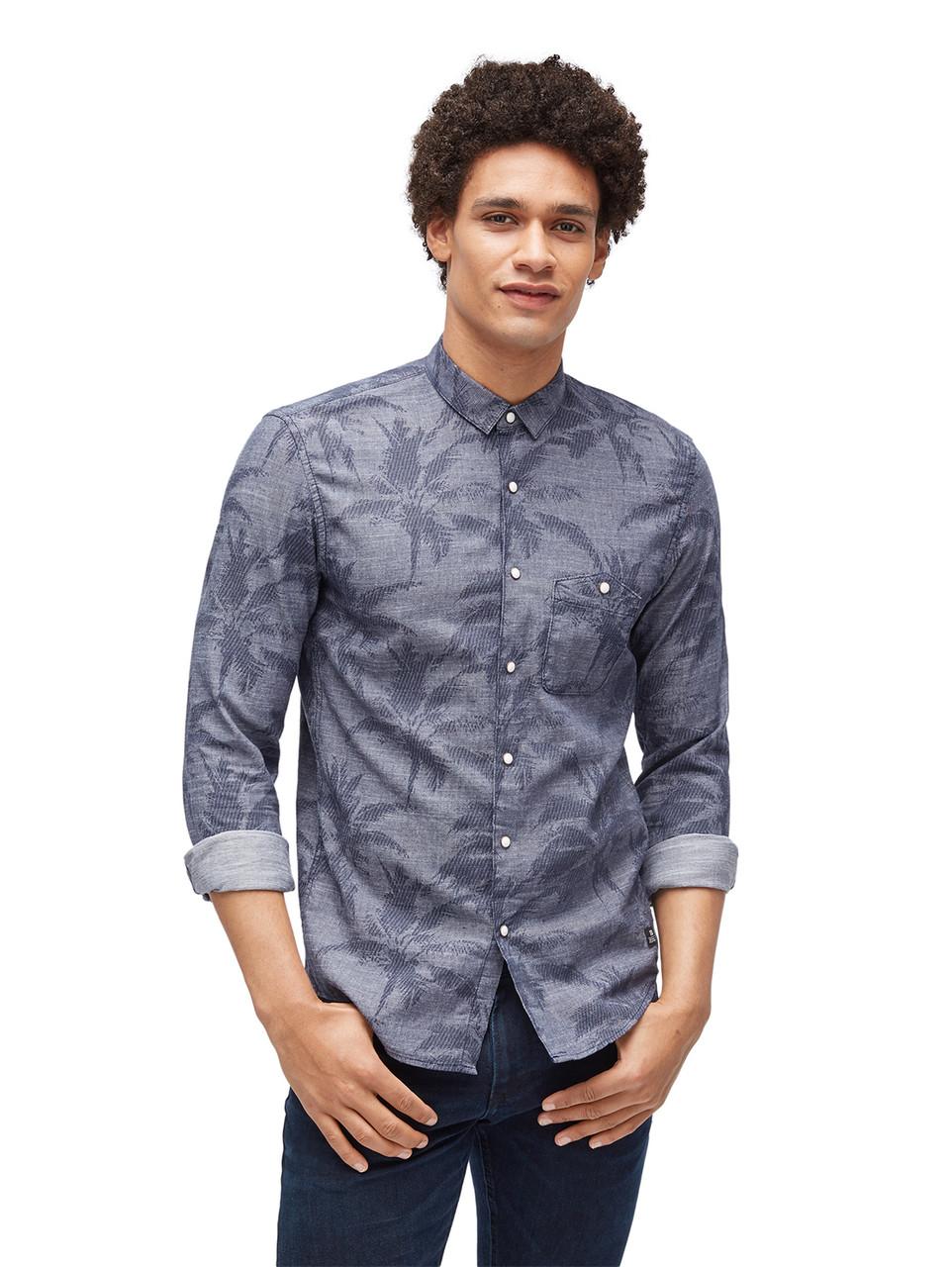 Рубашка Tom Tailor 1003307 S Серый