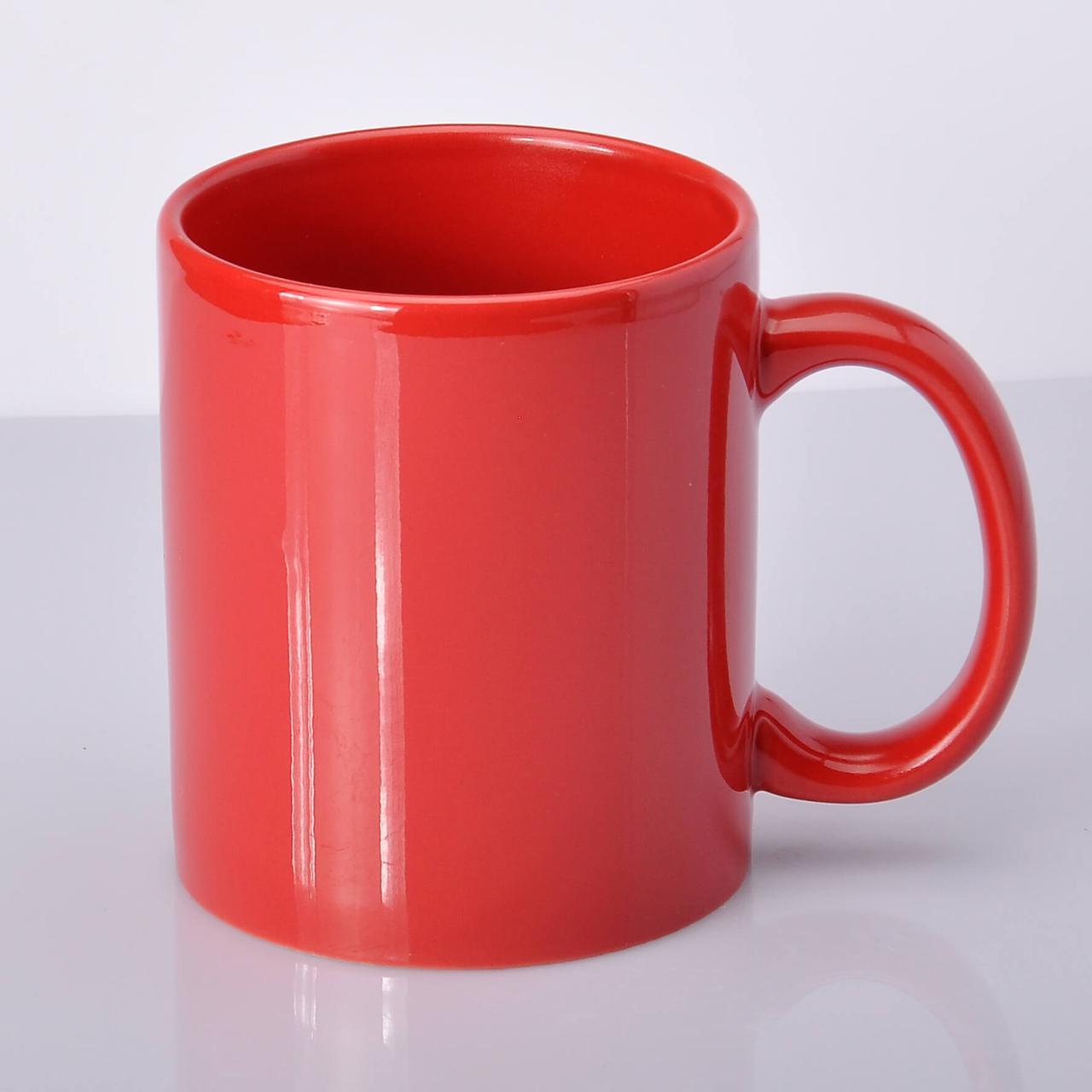 Чашка для сублимации цветная FullColor 330 мл Красная