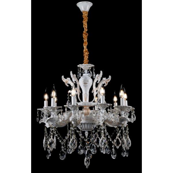 Люстра светильник хрустальный в классическом стиле для зала гостинной спальни Splendid-Ray 30-3740-90