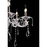 Светильники люстры свечи в классическом стиле для спальни гостинной зала  Splendid-Ray 30-3776-11, фото 3