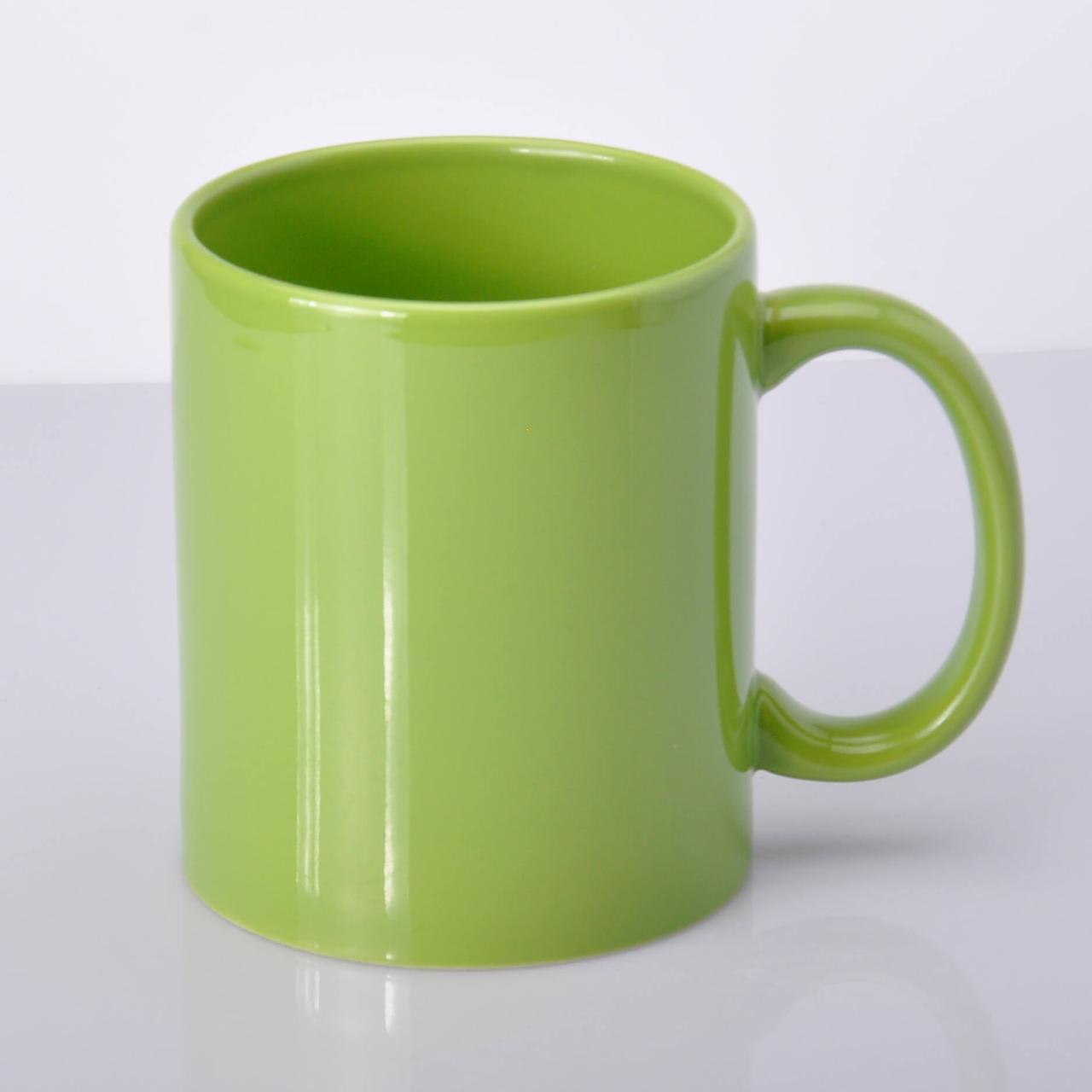 Чашка для сублимации цветная FullColor 330 мл Салатовая
