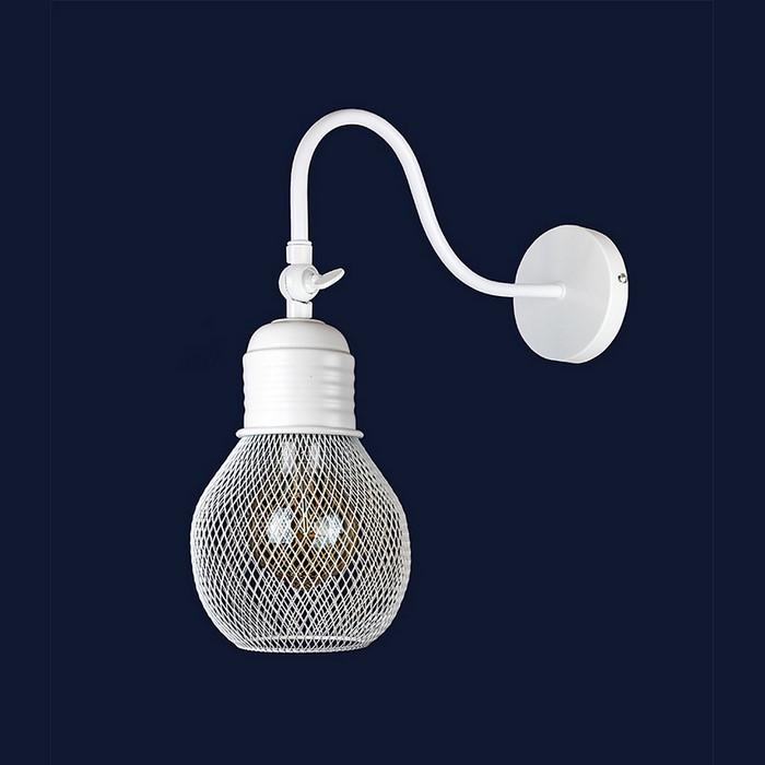 Светильники бра в стиле лофт Levistella 907W005F3-1 WH