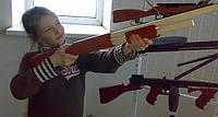Ружьё из дерева - Помпа ИЖ 81, фото 1