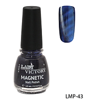 Лак для ногтей «Magnetic» Lady Victory LDV LMP-43 /94-0