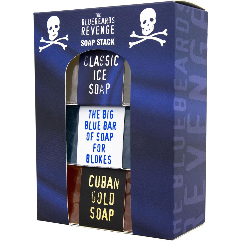 Набор по уходу за телом из трех видов мыла The Bluebeards Revenge Soap Stack Kit