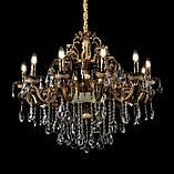 Люстра светильник классическая с хрустальными подвесками Splendid-Ray 30-3321-95, фото 2