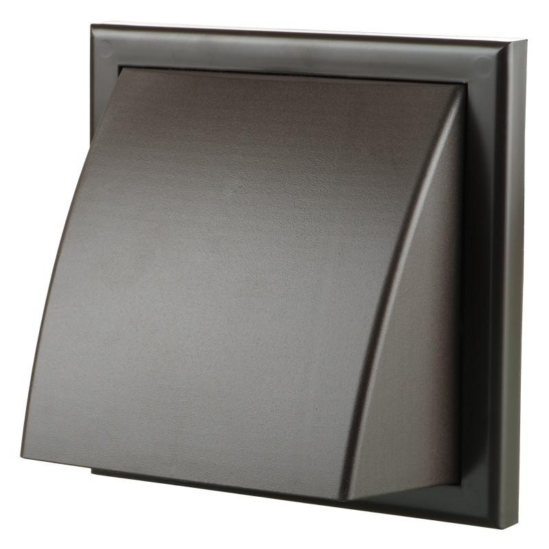 Вентс МВ 102 ВК (коричневый). Пластиковый наружный колпак