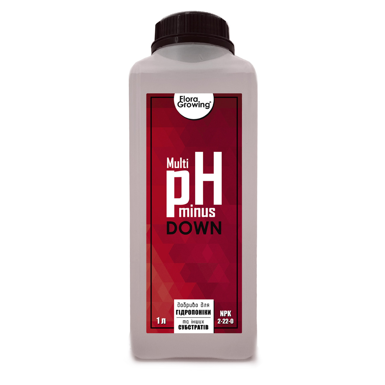 1 л Корректор pH Down/minus MULTI