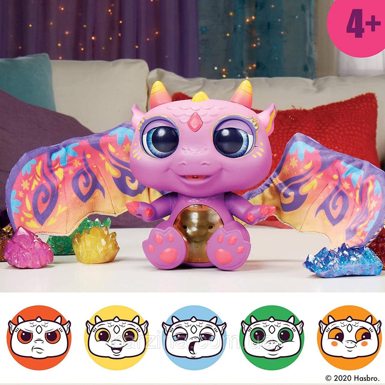 Интерактивнsq Малыш дракон FurReal Friends Moodwings Baby Dragon Hasbro