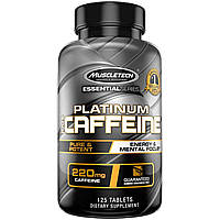 MuscleTech  Essential Series Platinum 100% Caffeine  200 mg  (125 tab)
