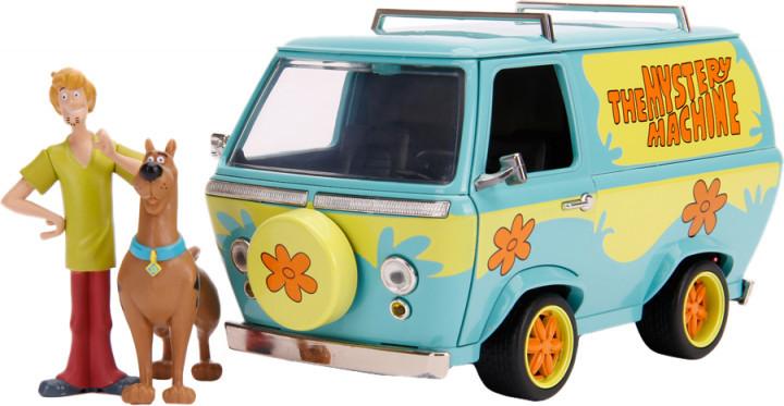 Машина металева Jada Scooby-Doo Mystic Bus + фігурки Скубі-Ду і Шеггі 1:24 (253255024)
