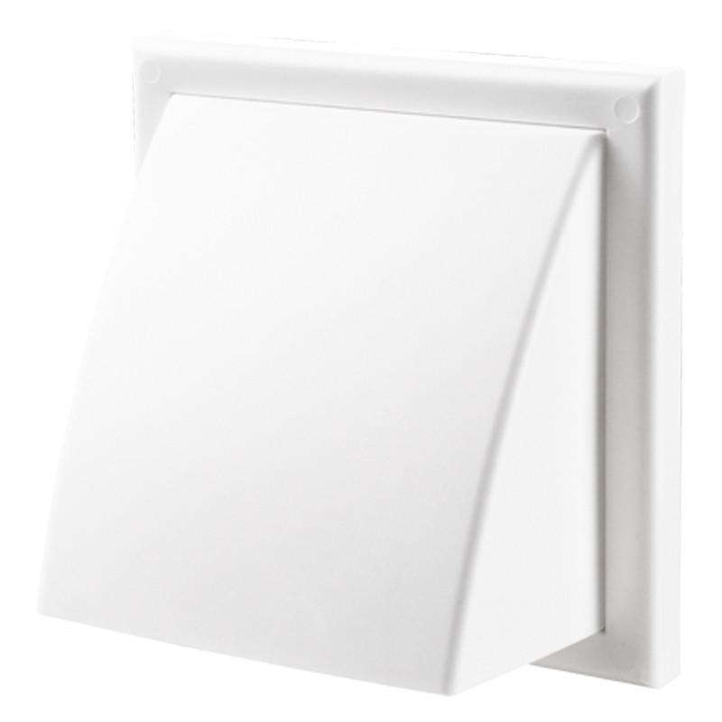 Вентс МВ 122 ВК АБС (белый). Пластиковый наружный колпак