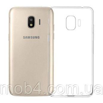 Силиконовый прозрачный чехол для Samsung Galaxy (Самсунг Гелекси) J2 pro